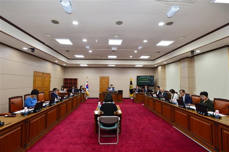 제275회 임시회 운영위원회 회의 이미지