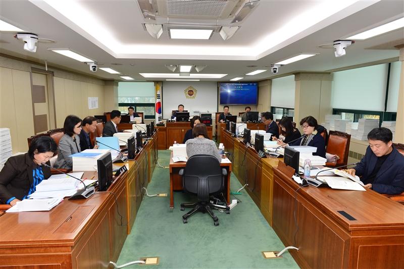 제277회 정례회 기획경제위원회 행정사무감사 이미지