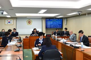 제280회 임시회 보건복지위원회 회의 이미지