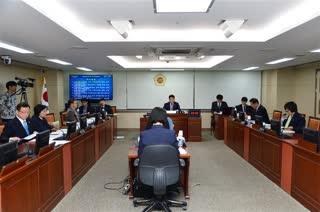 제280회 임시회 교육위원회 회의 이미지